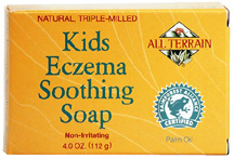 Kids Eczema Soothing Soap 4 oz. All Terrain