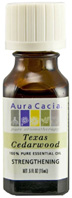 Essential Oil Cedarwood Texas Aura Cacia