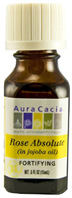 Precious Essential Oil Rose Absolute Jojoba Aura Cacia