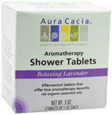 Relaxing Lavender Shower Tablets