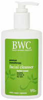 Herbal Cream Facial Cleanser 8.5 oz. BWC Beauty Without Cruelty