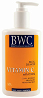 Vitamin C CoQ10 Facial Cleanser 8.5 oz. BWC Beauty Without Cruelty