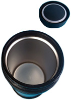 Bento Jar Black 17 oz BENTOLOGY