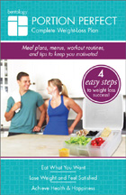 Portion Perfect Complete Weight-Loss Plan booklet BENTOLOGY
