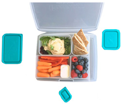 Portion Perfect Weight Loss Kit Clear Turquoise Bentology