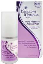 Pure Pleasure Arousal Gel 0.5 oz. Blossom Organics