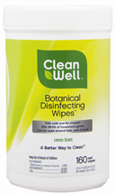 Botanical Disinfecting Wipes 160 ct. CleanWell