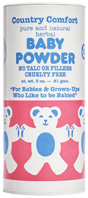 Herbal Baby Powder 3 oz. Country Comfort Herbals