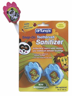 KIDS Snap-On Toothbrush Sanitizer Dr. Tungs