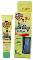 Toddler Toothpaste Apple Pear 1.7 oz. Earths Best Organic