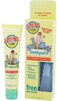 Toddler Toothpaste Strawberry Banana