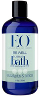 Bubble Bath Be Well Eucalyptus Arnica 12 oz. EO Products