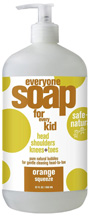 Everyone Kids Liquid Soap Orange Squeeze 32 oz. EO Products