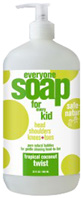Everyone Soap Kids Tropical Coconut Twist 32 oz. EO Products