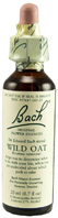 Original Flower Essence Wild Oat 0.7 oz. Bach Flower Remedies
