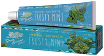 Natural Toothpaste Frosty Mint
