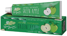 Natural Toothpaste Green Apple