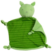 Organic Blankie Animal Green Fox Green Sprouts