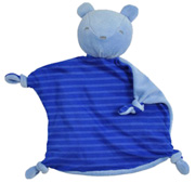 Organic Blankie Animal Royal Bear Green Sprouts