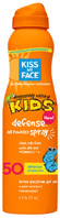 Kids Defense Continuous Spray SPF 50, 6 oz. Kiss My Face