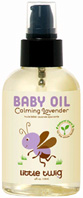 Baby Oil Calming Lavender 8.5 oz. Little Twig
