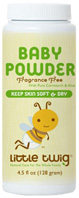 Baby Powder 100% Talc Free, 4.5 oz. Little Twig