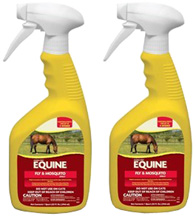 Equine Fly & Mosquito Ready To Use Spray, 32 oz. 2 Pack Manna Pro