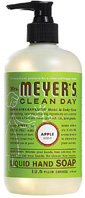 Liquid Hand Soap Apple 12.5 oz. Mrs. Meyers Clean Day