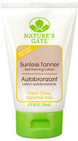 Sunless Tanner Self Tanning Lotion, 4 oz. Natures Gate