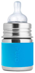 Kiki Infant Bottle AQUA Pura Stainless