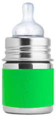 Kiki Infant Bottle GREEN Pura Stainless
