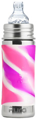 Toddler Bottle PINK SWIRL 11 oz.