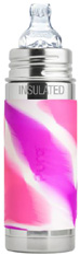 Vacuum Insulated Toddler Bottle PINK SWIRL 9 oz.