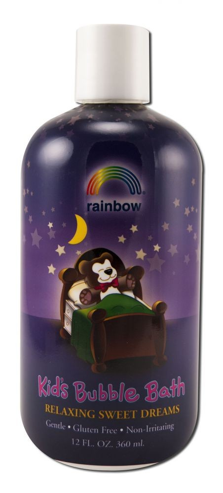 Bubble Bath for Kids Sweet Dreams 12 oz. Rainbow Research