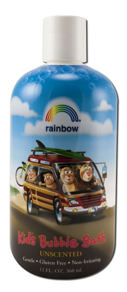 Bubble Bath for Kids Unscented Rainbow Research