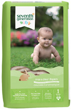 Baby Diaper Stage 1, 40 count Seventh Generation