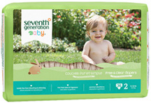 Baby Diaper Stage 2, 36 count Seventh Generation