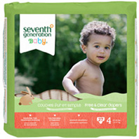 Baby Diaper Stage 4, 27 count Seventh Generation