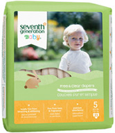 Baby Diaper Stage 5, 23 count Seventh Generation