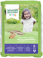 Baby Diaper Stage 6, 20 count Seventh Generation