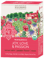 Specialty Tea Joy, Love & PassionFour Elements Herbals