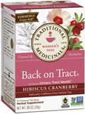 Women's Tea Back on Tract 16 Tea Bags Traditional Medicinals