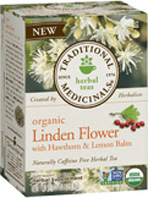 Relaxation Tea Linden Flower 16 Tea Bags Traditional Medicinals