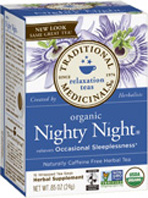 Relaxation Tea Nighty Night 16 Tea Bags Traditional Medicinals