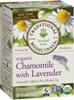 Relaxation Tea Chamomile Lavender 16 Tea Bags Traditional Medicinals