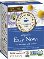 Relaxation Tea Easy Now 16 Tea Bags Traditional Medicinals