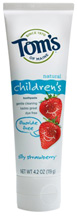 Silly Strawberry Fluoride Free Children's Toothpaste 4.2 oz. Tom's of Maine