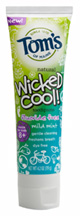 Wicked CoolToothpaste Mild Mint Fluoride Free 4.2 oz. Tom's of Maine