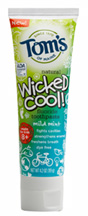 Wicked CoolToothpaste Mild Mint Fluoride 4.2 oz. Tom's of Maine
