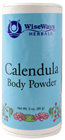 Calendula Body Powder: Wise Ways Herbals
